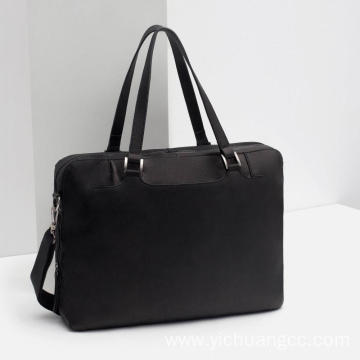 Imitation leather laptop bag