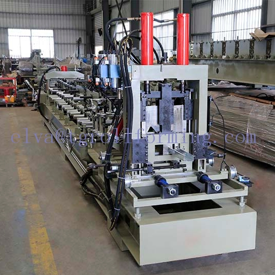 Automatic C and Z Shape Purlin Machine