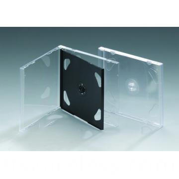 10 4mm Double Cd Case With Black Tray1