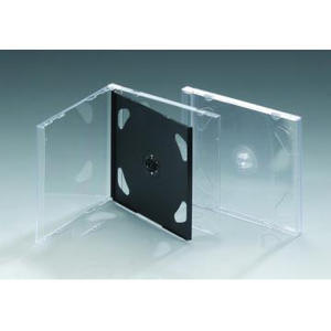JEWEL CD case JEWEL CD Box JEWEL CD cover 10.4mm doublewith black tray(YP-B202c)