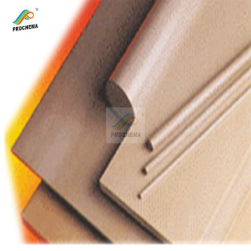 Chemical resistance peek anticorrosive insulative sheet