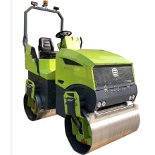 New type diesel four cylinder road roller