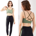 Stretch High Impact Yoga Bra for Women