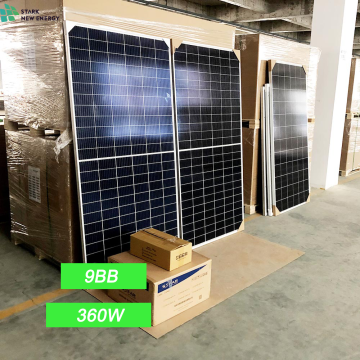 Half Cell 360W Photovoltaic Solar Panel