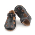 Leather Sandals T Bar Mary Jane Baby Shoes