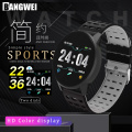 LIGE Smart bracelet Heart rate monitor Pedometer distance calories Consumption of digital electronic sport watch Call message