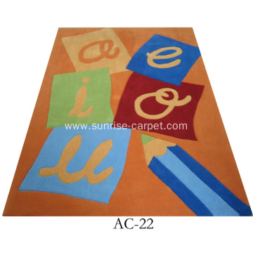 Children Design Hand Tufted Rug