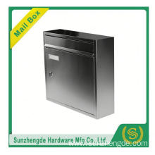 SMB-003SS Stainless Steel American Large Wall Mounted Metal Letters Mailbox