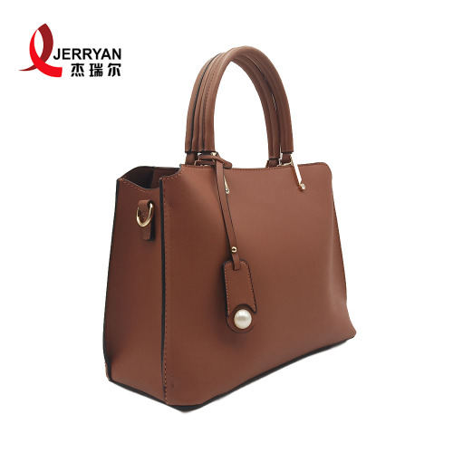 Ladies Beach Sling Bag Leather Tote with Zipper