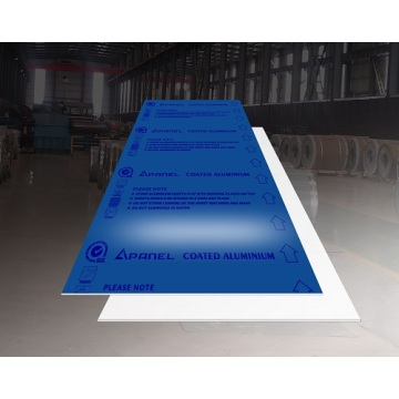 Feve Gloss Patriotic Blue Aluminum Sheet Plate 5052 1200*3600*1.6mm