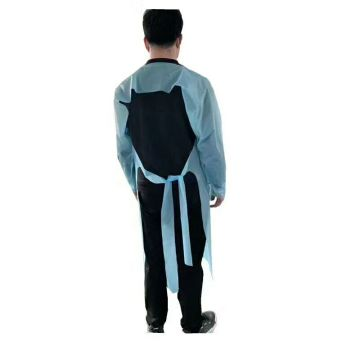 Disposable CPE Long Sleeve Grows Aprons