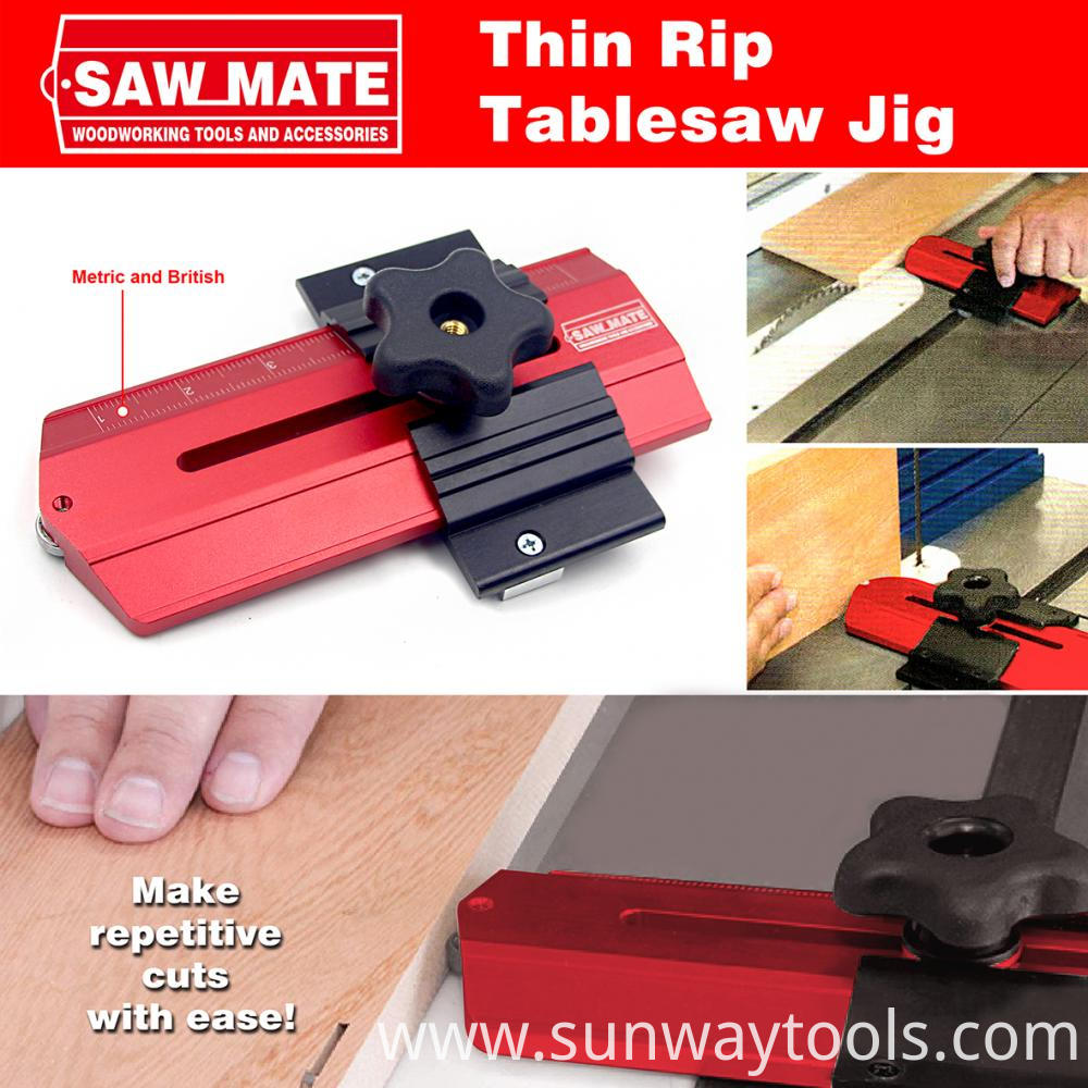 Thin Rip Table saw Jig