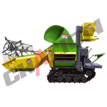 Mini 4LZ-1.0 Full Feed Rice Combine Harvester Price