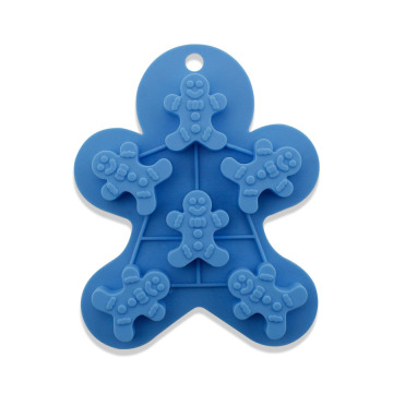 Reusable Non-Stick Snowman Ice Cube Trays