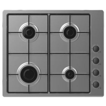 Candy Gas Cooker Inox Plate 4 Burner