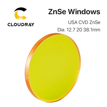 Protective Windows USA CVD ZnSe Material Diameter 12.7 20 38.1mm