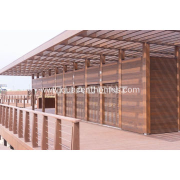 High-quality Glulam Beams Houses For Tourist Resorts
