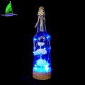 New Design Christmas Glass Bottle With Led Lights
