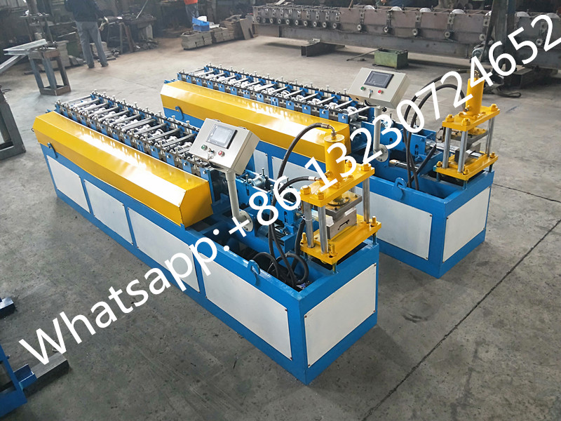 roller shutter slats making machine