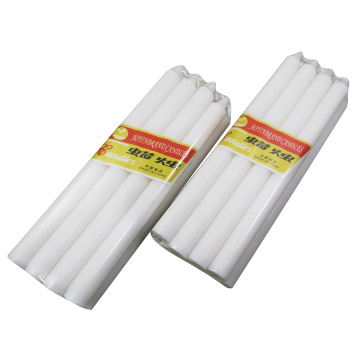 candle bougie wax white stick shape candle