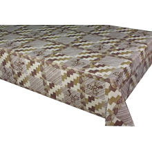 Elegant Tablecloth Below with Non woven backing