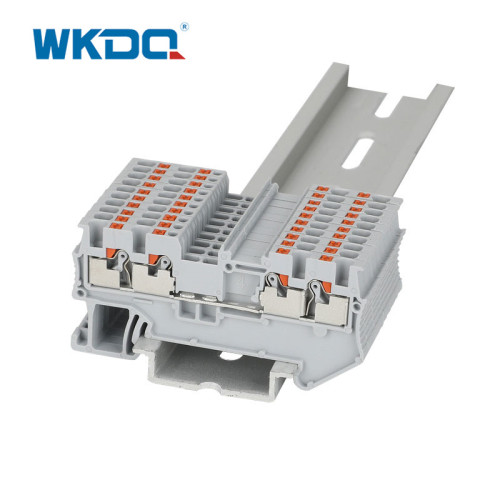 4 Conductor DIN Terminal Blocks