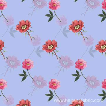 Richly Woven Fabric Digital Textile Printing Plain Fabric