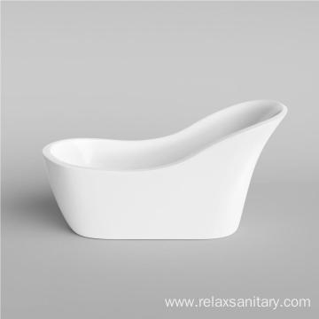 New design simple acrylic classical bathtub