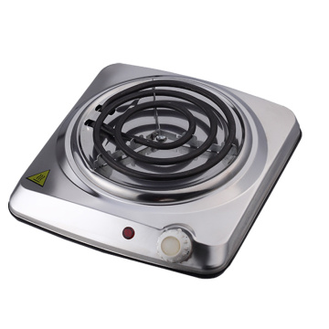 Electric Burner Countertop Single Coiled Portable Hotplate