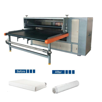 Durable mattress packaging machine