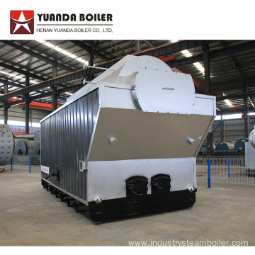 DZH Series Coal Fired Moving Grate Steam Boiler
