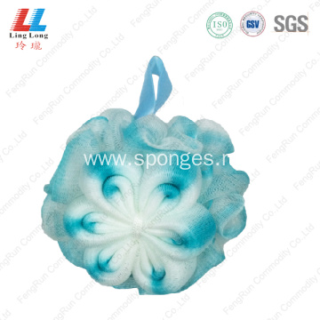 mesh gradient shower soft bath sponge