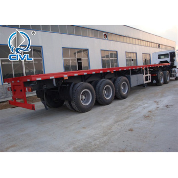 3 Axle 40ft Flatbed ContainerTrailer