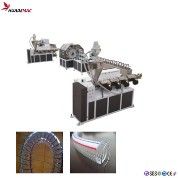 PVC soft hose making machine