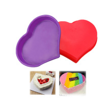 Silicone Heart-shaped Cake Mold Pan Kitchen