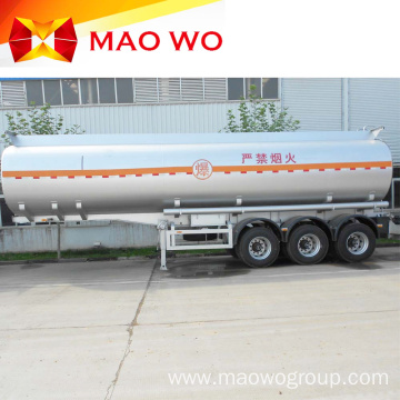 Hot Sale 40M3 Tri-Axle Oil Tank Trailer