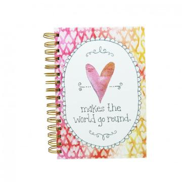 PINK HEART SPIRAL NOTEBOOK-0