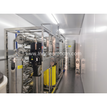 Containerize Water Treatment Plant with GMP Clean Room