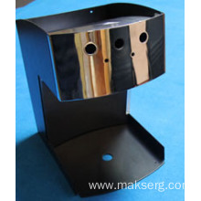 Mirror Finish Stainless Enclosure for Coffee Machine