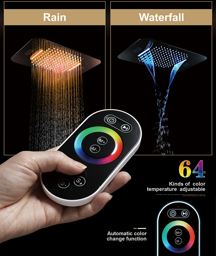Led Shower Set