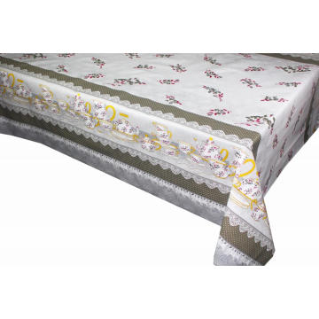 Elegant Tablecloth with Non woven backing 84x60