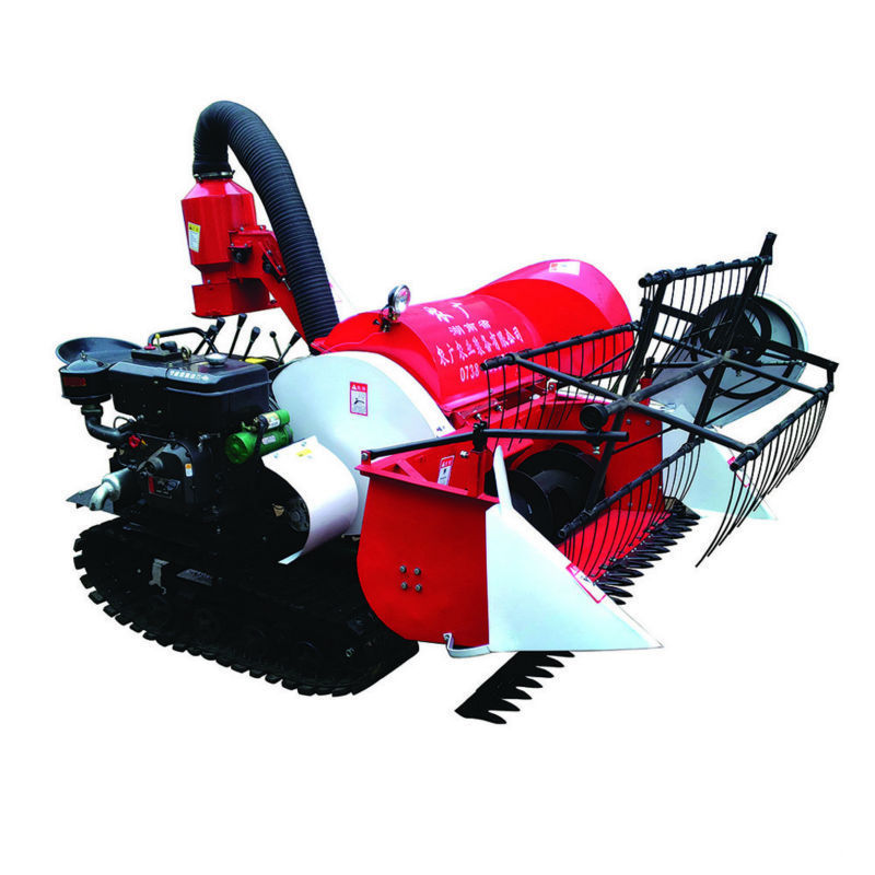 Paddy Combine Harvester Wheat Cutter Mini Harvester