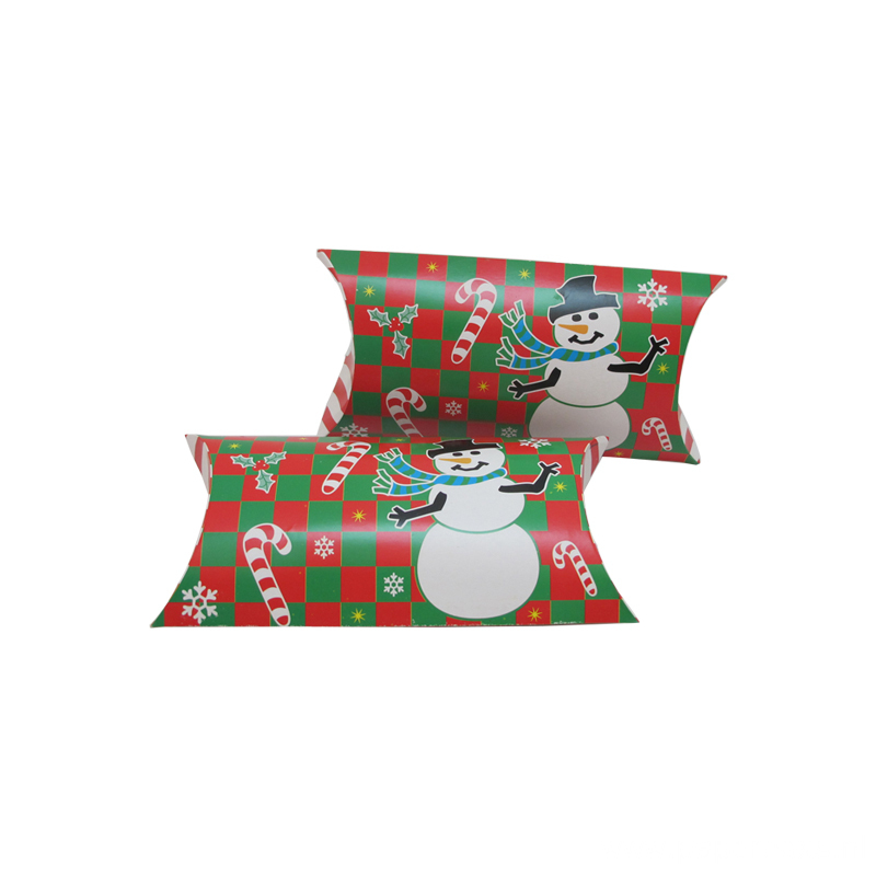 Handmade Christmas Pillow Design Gift Packaging Box