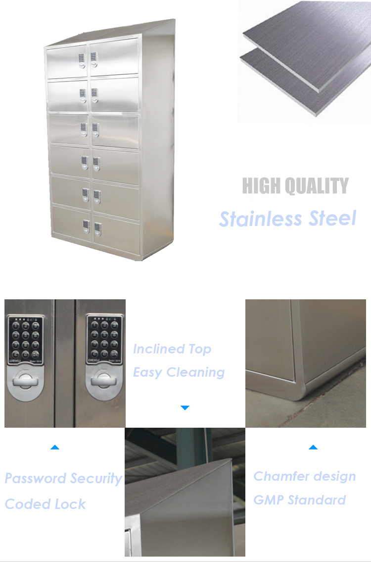 Password Security Coded Lock Cabinet