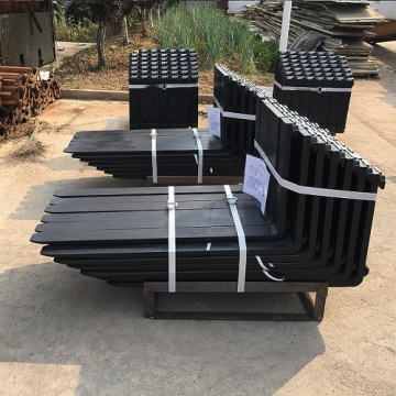hook type pallet forks for crane