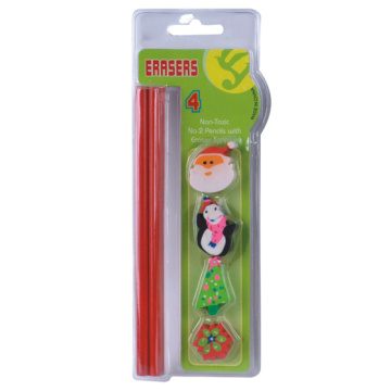 Non-Toxic Novelty Eraser Set