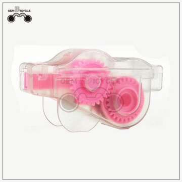 Pink Bicycle Chain Cleaner