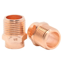 Copper Threaded Male Adapter
