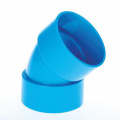 UPVC JIS K-6739 Drainage Elbow 45° Blue Color
