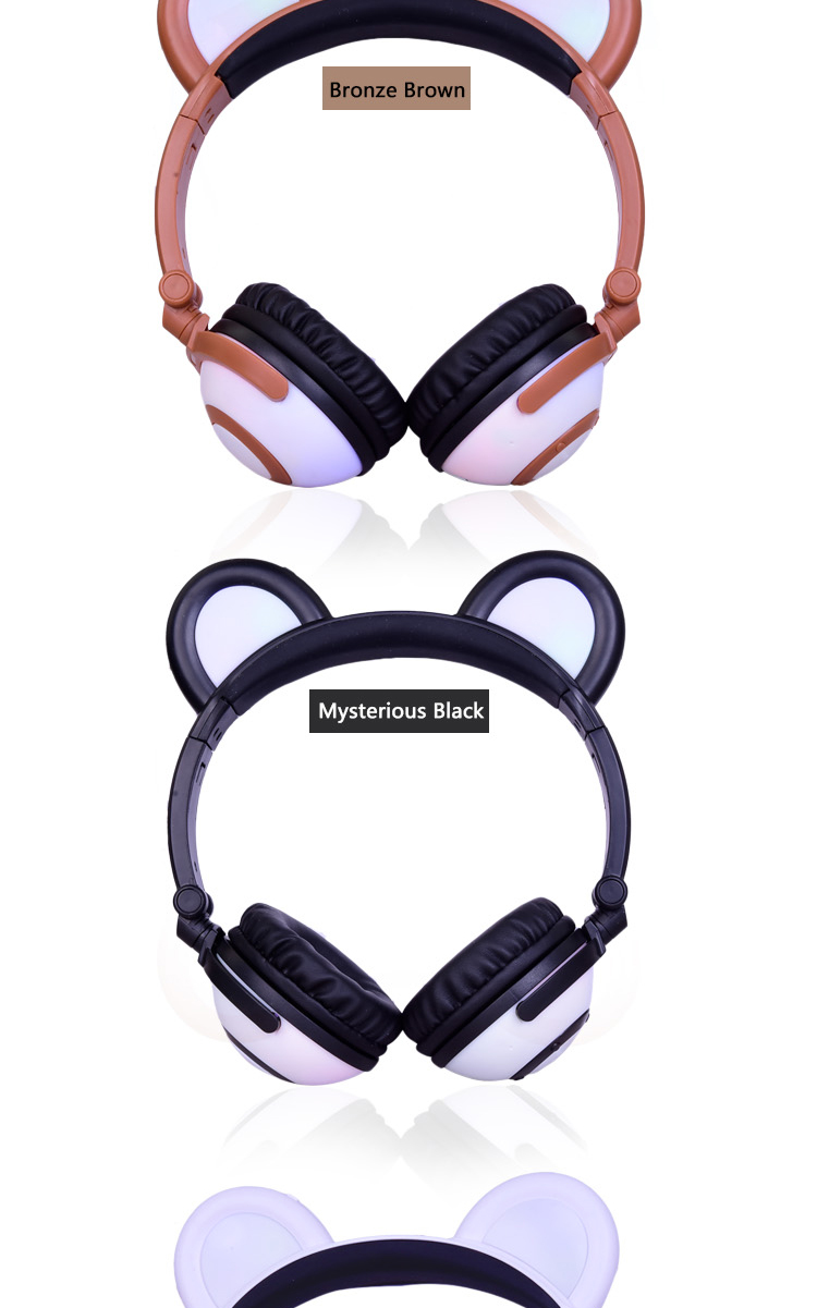 Led Bluetooth Headphones